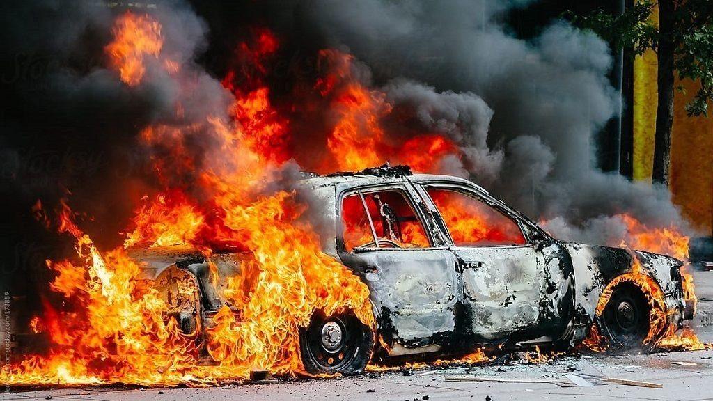 Mơ thấy ô tô cháy